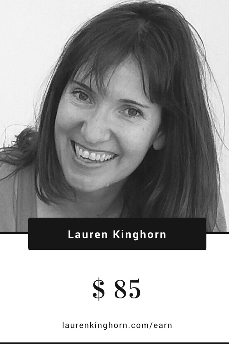do bloggers earn income blogging lauren kinghorn