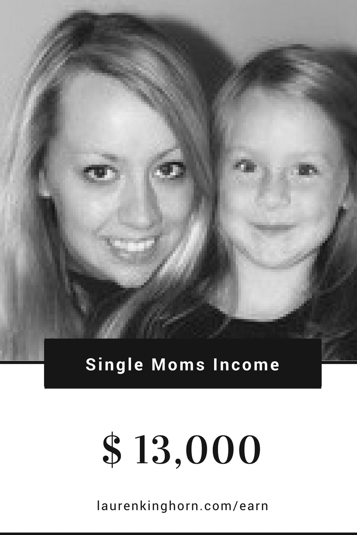 Alexa Mason is living proof that single Mom bloggers earn income blogging. She earned over $13,000 in April 2017. #makemoneyblogging