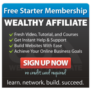 Wealthy Affiliate Starter Membership laurenkinghorn.com