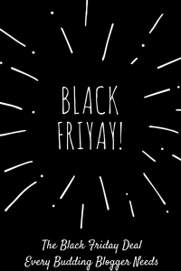 Ready to make money blogging? Then you need to grab this Black Friday offer right now. | BlackFriday2017 | TheBlackFridaySale | MakeMoneyBlogging |
