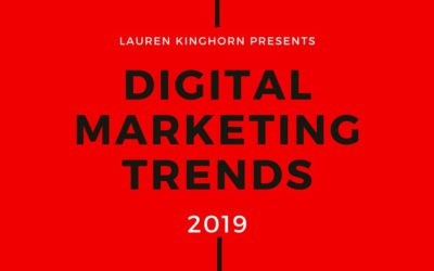 Digital Marketing Trends to Watch in 2019