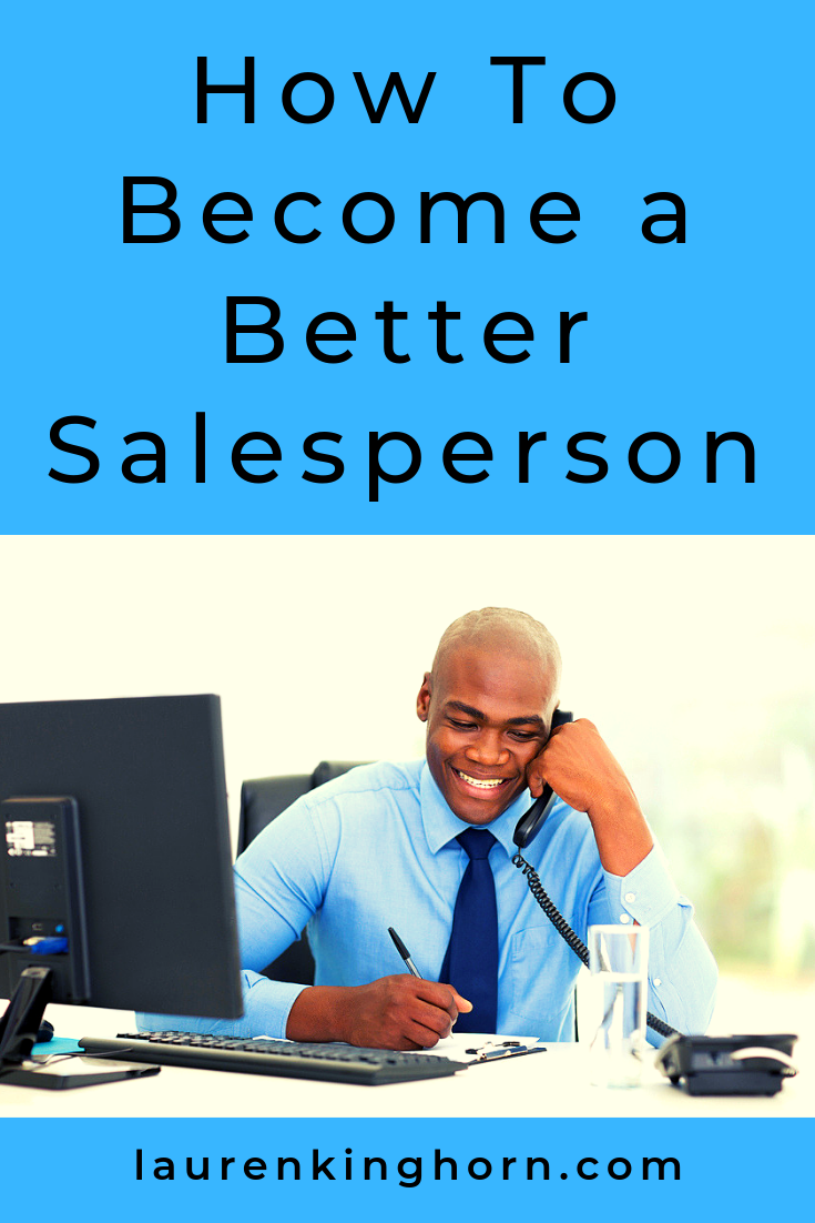 No matter what business you're running, I believe there's always an element of sales. All entrepreneurs need sales skills so here you go. #HowtoBecomeaBetterSalesperson