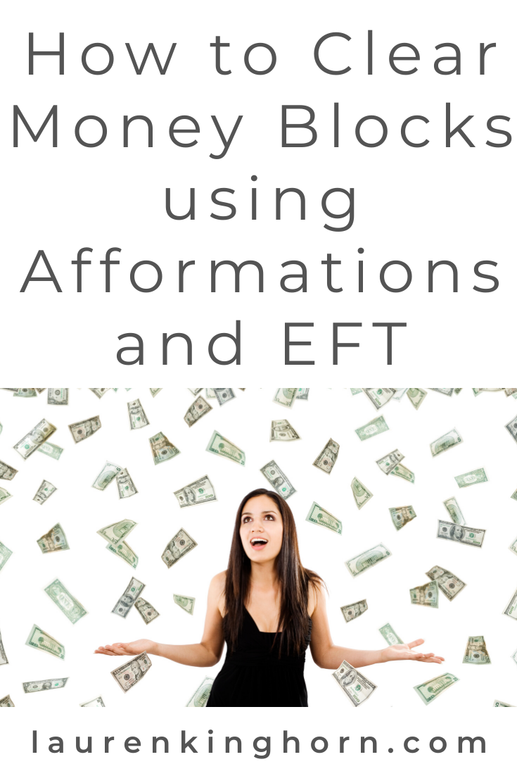 My favourite takeaways from House of Brazen's 21-Day Money Mindset Reset and my take - How you can use EFT, Affirmations and Afformations to clear money blocks. #howtoclearmoneyblocks #Afformations #AfformationsvsAffirmations #EFT #Tapping #EmotionalFreedomTechnique