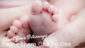 Count Your Blessings Name Them One by One - Jill du Preez on laurenkinghorn.com
