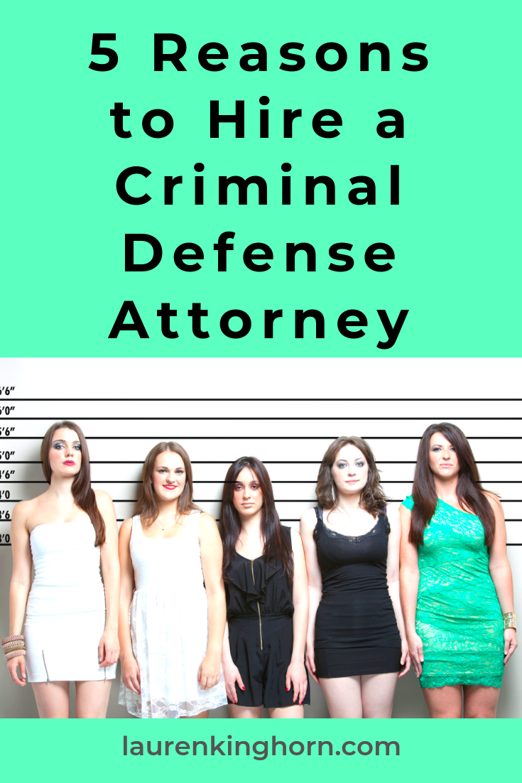 For that ghastly day when you need a criminal defense attorney. Fingers crossed you'll never need this post. #5ReasonstoHireaCriminalDefenseAttorney