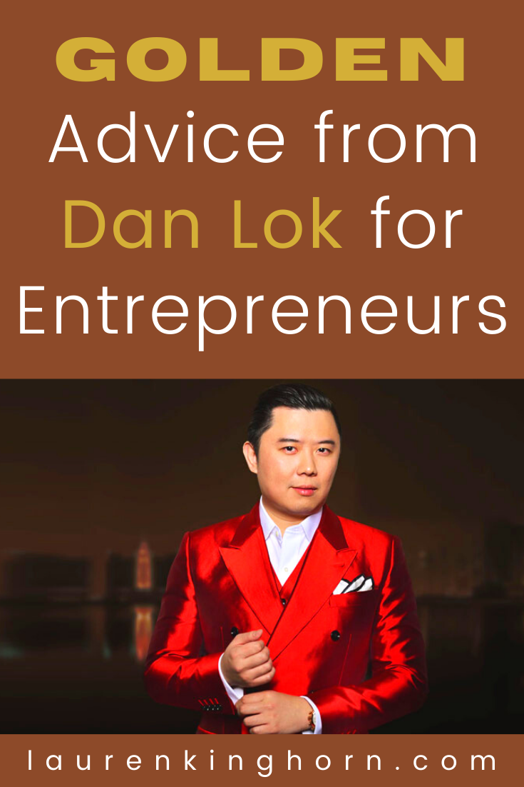Dan Lok is a successful internet entrepreneur, property investor, venture capitalist, bestselling author, YouTuber and Podcaster. Dan's net worth is estimated to be between $50 and $86 Million.  Here's some of his best advice for entrepreneurs.  #goldenadvice #advicefromDanLok #adviceforentrepreneurs #entrepreneurshipadvice