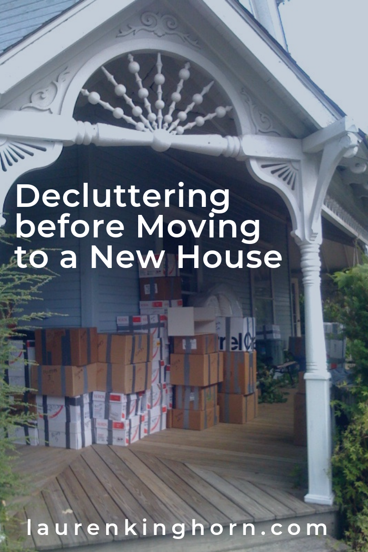 About to move to a new home? It's time to get rid of all the clutter you've accumulated over the years. #declutteringbeforemovingintoanewhouse #movinghouse #declutter
