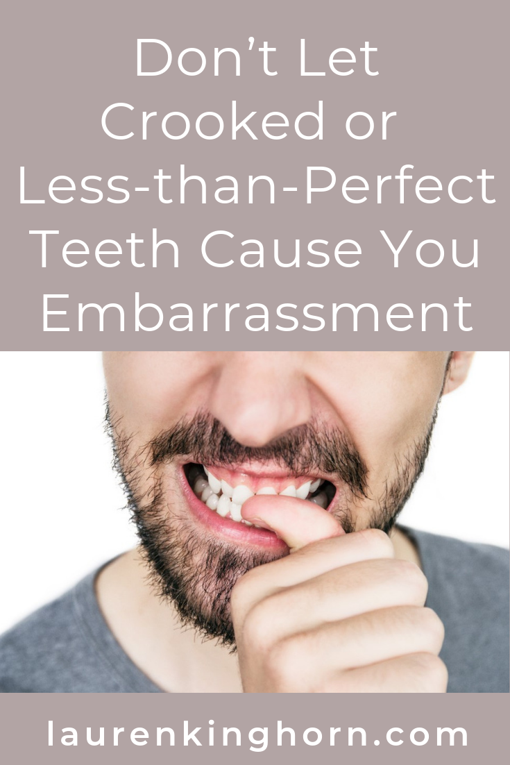 Are your crooked teeth causing you embarrassment? Invisible Braces Can Help. #crookedteethembarrassment #invisiblebraces #dentalcare #teethstraightening