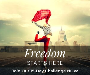 Freedom Starts Here - Join Our 15 Day Online Business Challenge Today