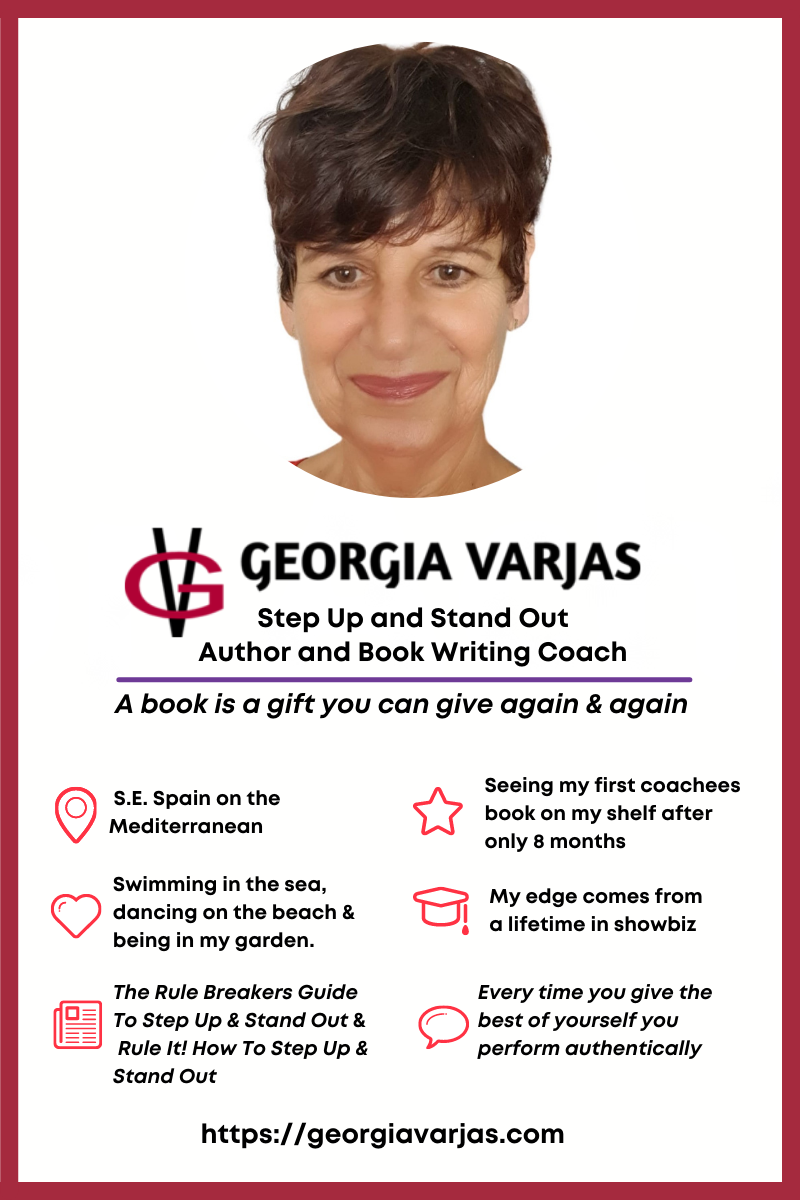 Georgia Varjas is the bestselling author of The Rule Breakers Guide To Step Up & Stand Out. In this interview, she gives 3 best tips on how to step up and stand out. #howto #stepup #standout #interview