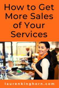 Are you in the Service Industry? Sales might not be your bag. Here's how to convert more prospects into clients. #howtogetmoresalesof #serviceindustry #leadhandling #leadconversion