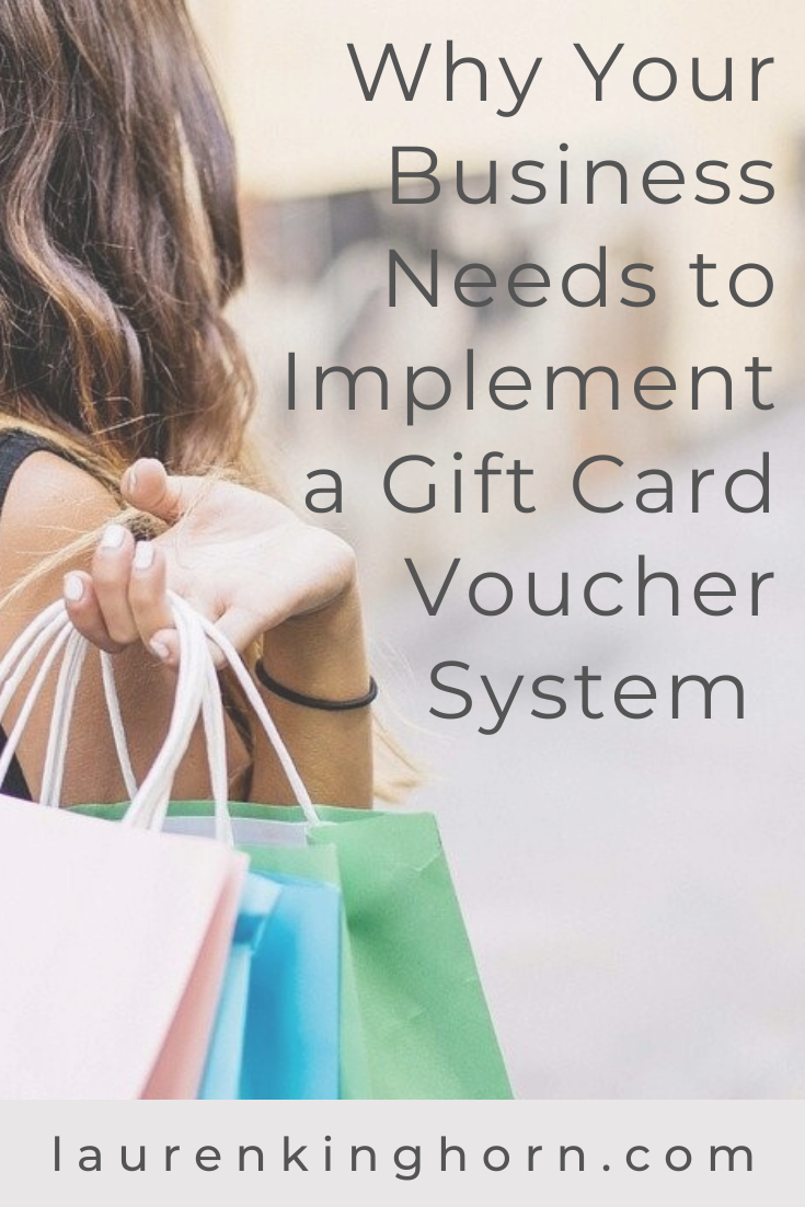 4 Excellent Reasons to Implement a Gift Card System in your business. #giftcardsystem #giftcardvouchersystem