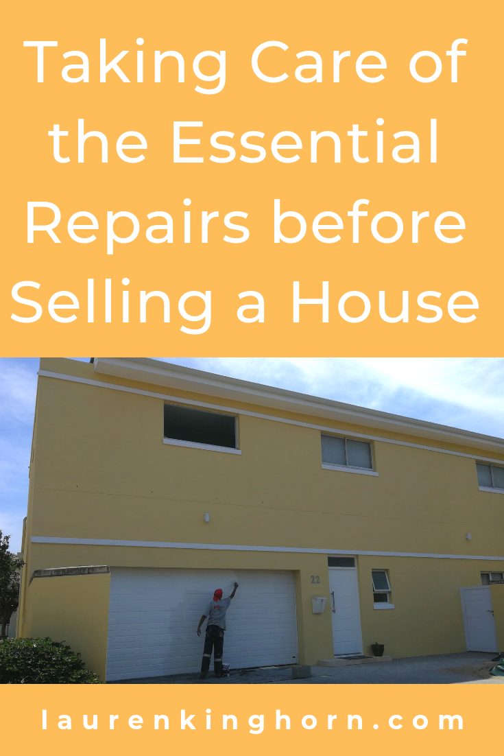 Are you about to put your house on the market? Here's what you need to do to get it ready for sale. #repairsbeforesellingahouse #houserepairs #homerepairs #homemaintenance #roofing