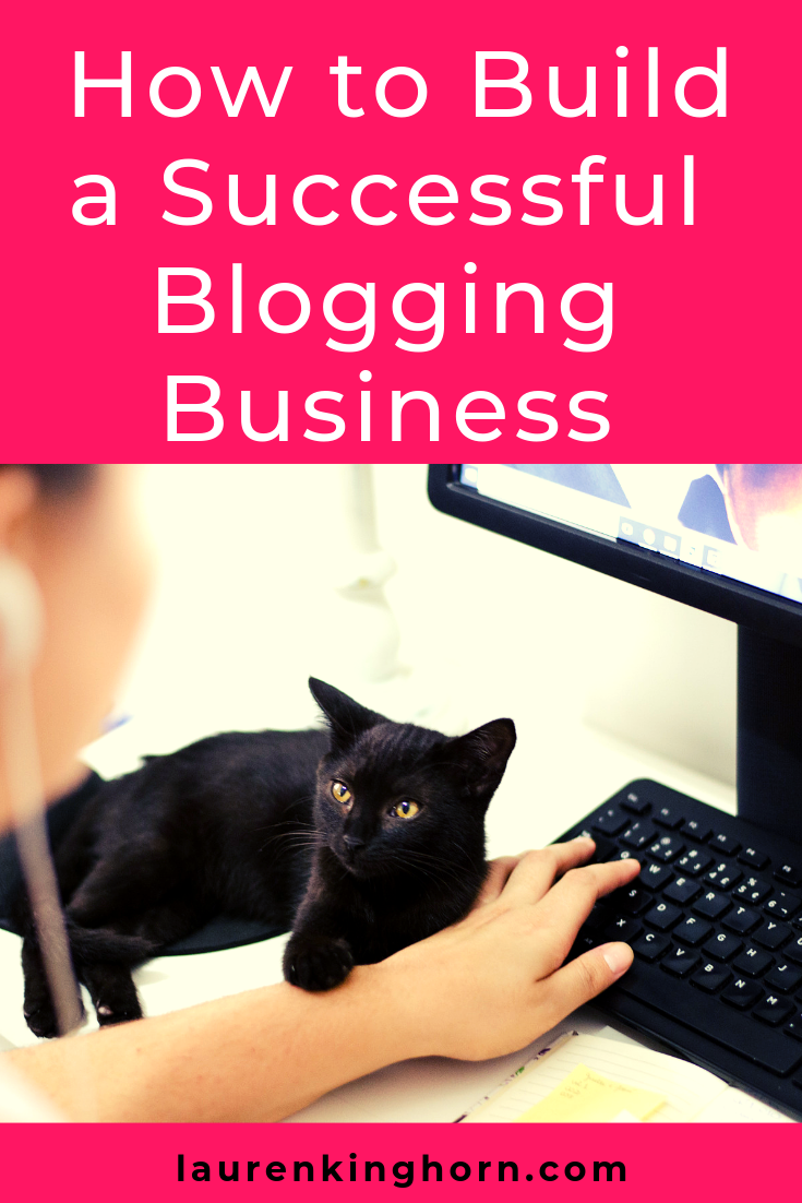 Are you keen to set up a blog and turn it into a business? Here's how. #HowtoBuildaSuccessfulBloggingBusiness #MakeMoneyBlogging #BloggingforBusiness