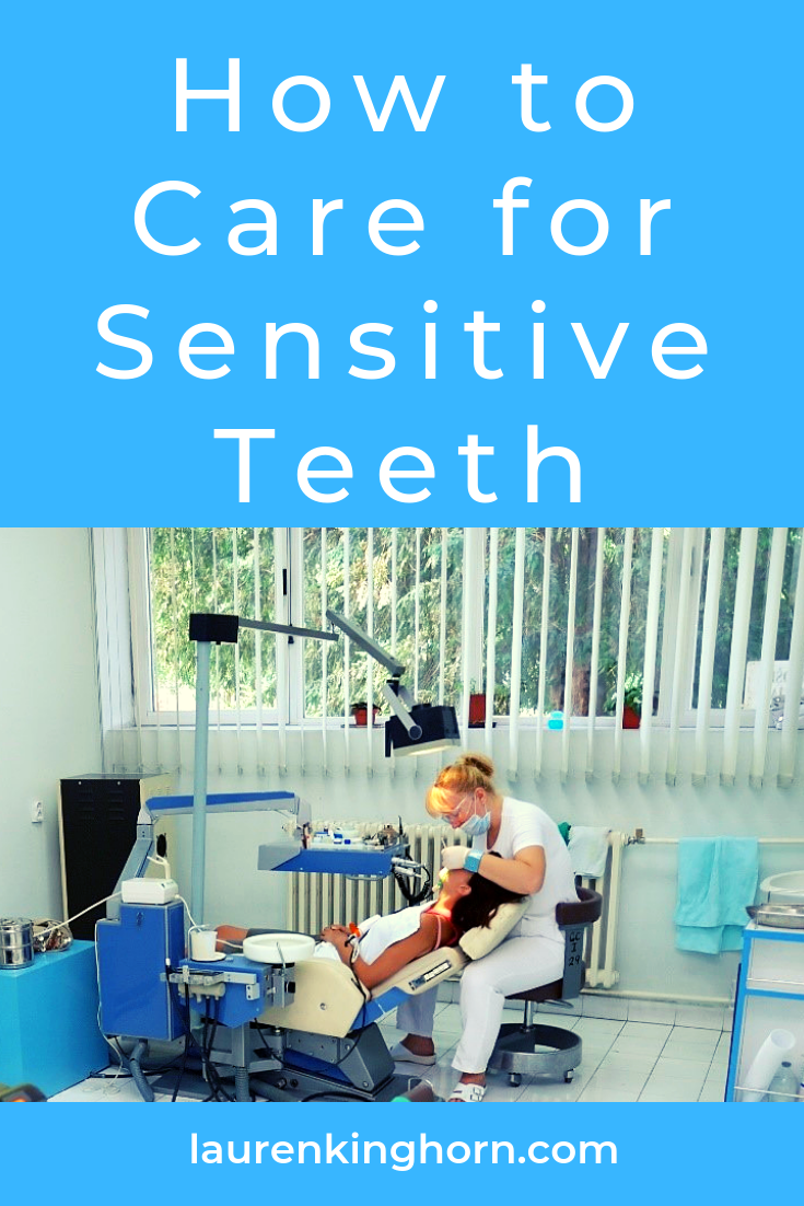 Do you have sensitive teeth? Ouch! Here's how to minimise the tenderness. #HowtoCareforSensitiveTeeth