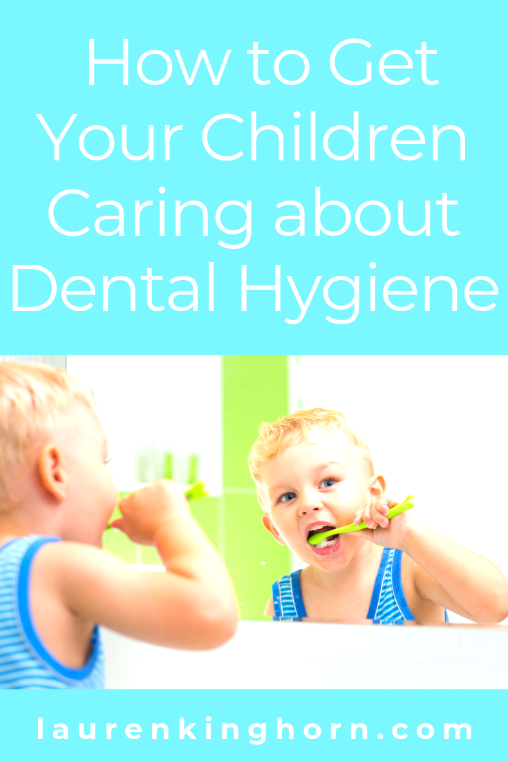 Clever tricks to make dental hygiene fun for children and teach them how to brush their teeth correctly. #howtogetchildrencaringaboutdentalhygiene #childrendentist #childrendentalcare