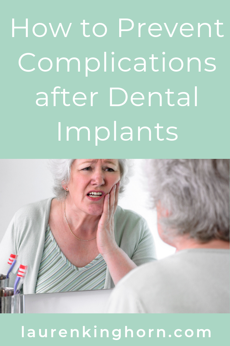 Having pain after dental implant treatment? You need to take extra special care to avoid complications. #howtopreventcomplicationsafterdentalimplants #howto #dentalimplants #dentalcare