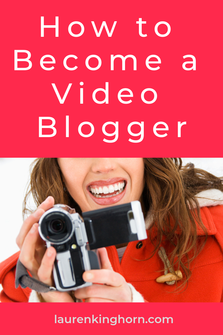 Have you started creating videos for your blog posts yet? What's stopping you? Let's get started.  #HowtoBecomeaVideoBlogger #Vlogging #YouTube