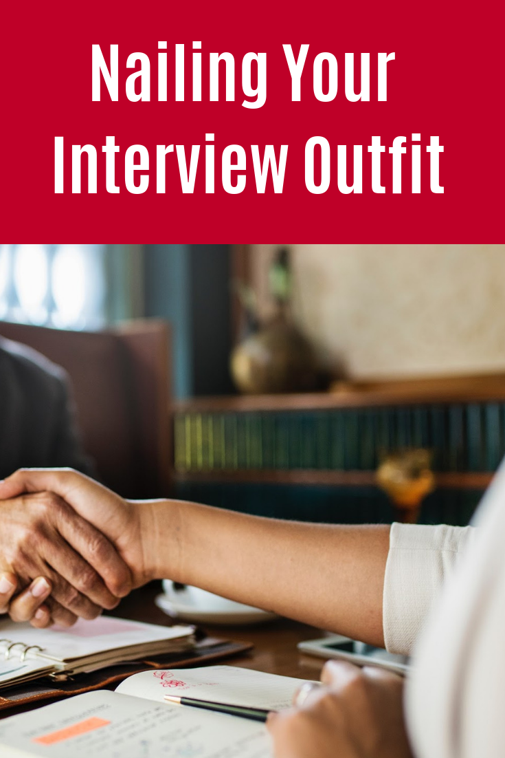 Preparing for a job interview? Here are some important style considerations to help you walk in head held high. #InterviewOutfit