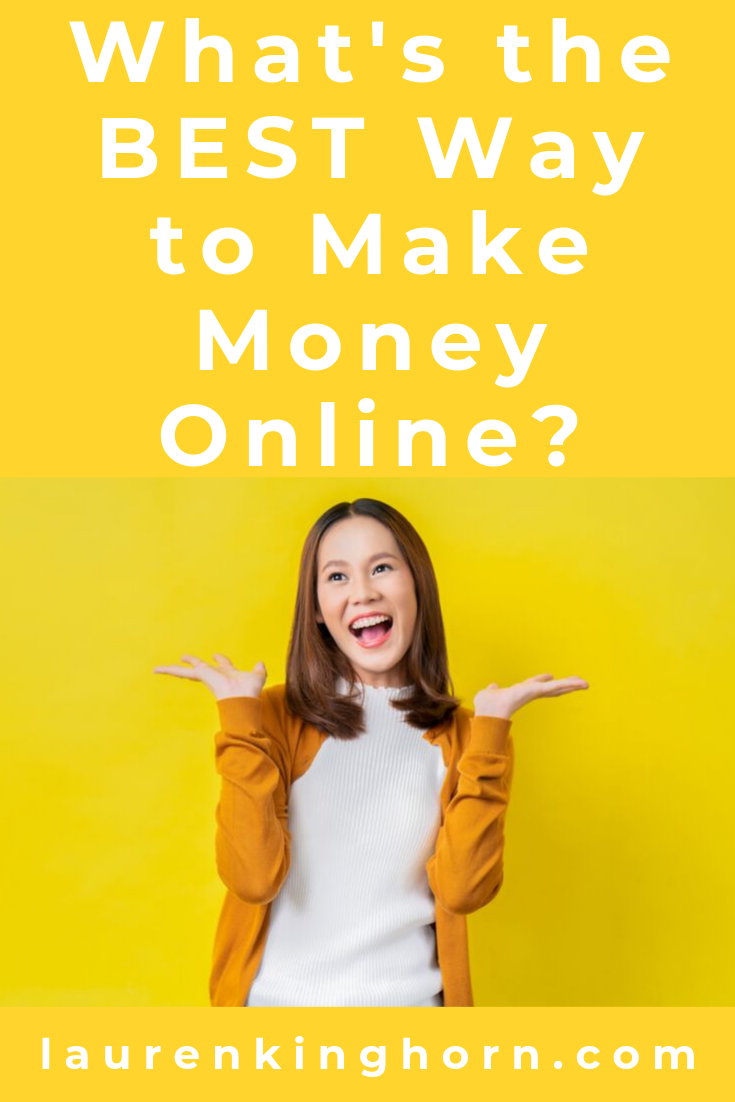 Building an online business can be confusing. So many opportunities, so many paths. It helps to have a roadmap, a blueprint and it helps to know the best way to make money online. #WhatstheBestWaytoMakeMoneyOnline #DigitalEntrepreneurship #DigitalEntrepreneur #AffiliateMarketing #HighTicketAffiliateMarketing