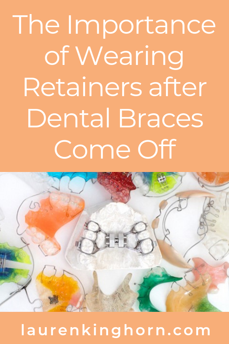 Has your dentist advised wearing retainers after braces? Here's why it's vitally important to heed their advice. #wearingretainersafterdentalbraces  #teethstraightening #dentalcare #dentalbraces #dentalretainers