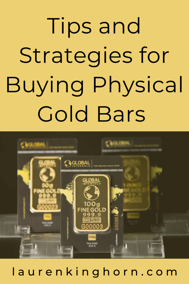 Where do you invest your money? Have you considered buying gold bullion? Here are some tips and strategies for buying physical gold bars. #tipstobuyinggold #howtobuygold #buyinggoldbullion