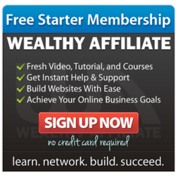 Wealthy Affiliate Free Starter Membership - Try before you buy.