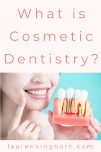 Cosmetic dentistry can be any form of dental work that improves the colour, shape, or alignment of the teeth. Read more... #WhatisCosmeticDentistry #HealthandWellness #SelfCare #DentalCare #dentistry #dental