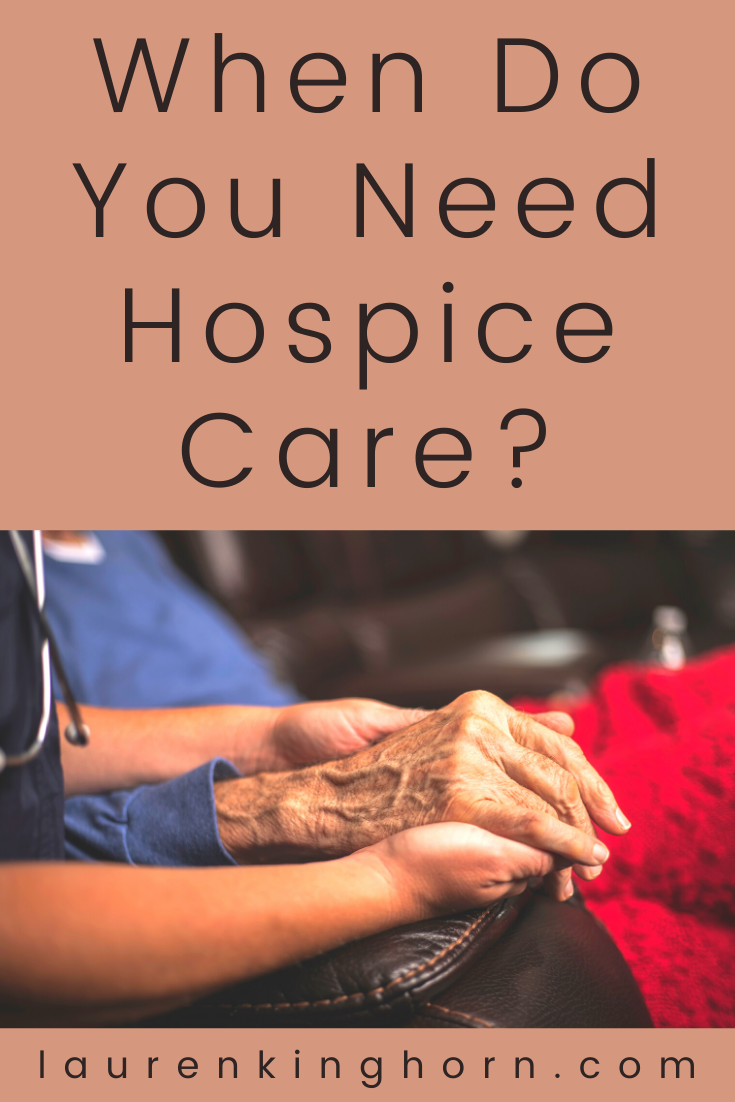How do you know if you or someone close to you needs hospice care? Anyone suffering from a life-restricting condition is eligible for palliative care. This specific type of care offers support and guidance for patients who need palliative care and their families. #whendoyouneedhospicecare #eligibilityforhospice #hospiceguidelines #whentogotohospice