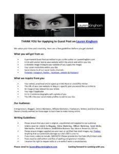 Writing-Guidelines-Lauren-Kinghorn