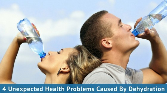 4 Unexpected Health Problems Caused By Dehydration