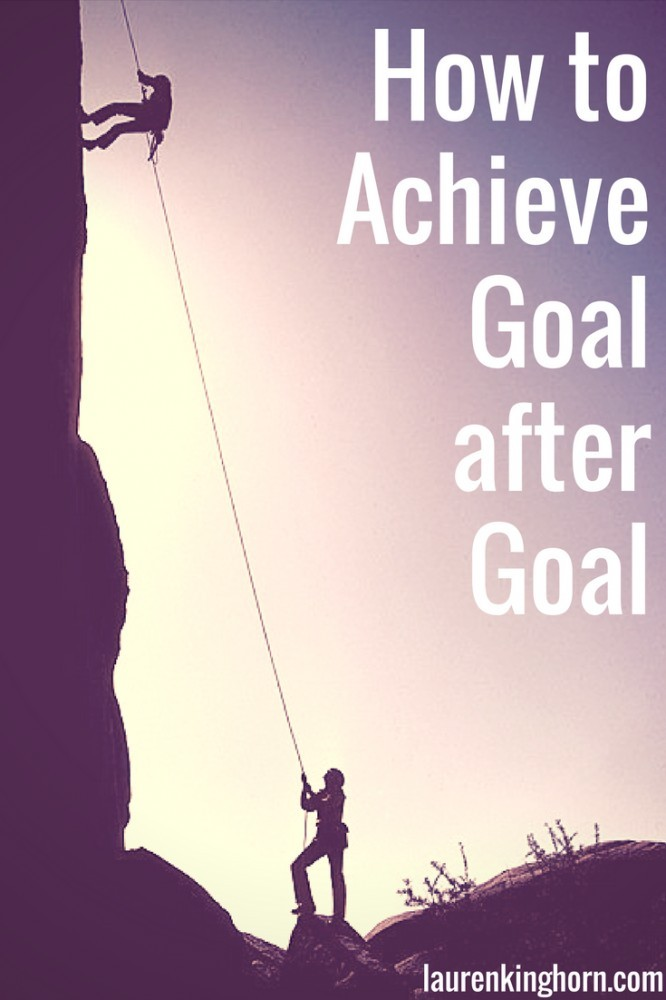 Whats holding you back from achieving your goals? The short answer. You. Here's how to achieve goal after goal. Every time. #howtoachievegoal